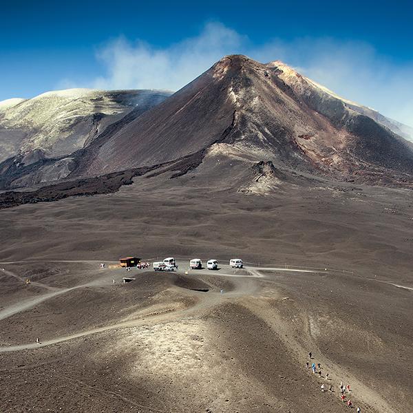 Etna a 3000 metri
