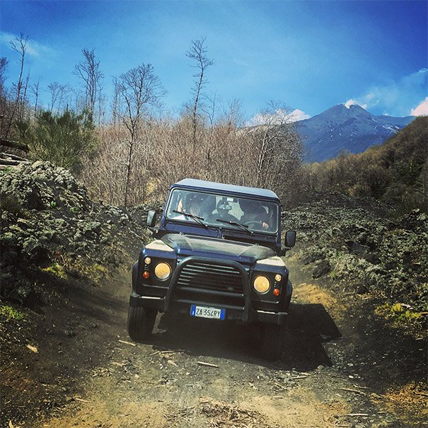 Escursione Etna 4x4