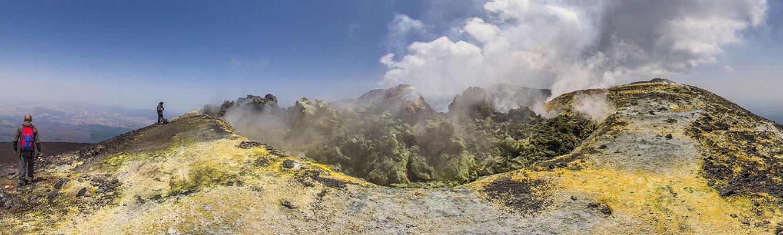 trekking sommitali Etna