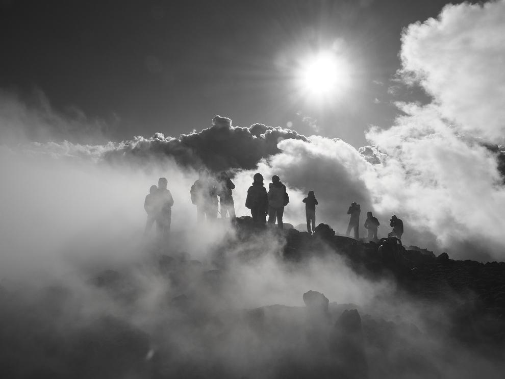 Etna trekking crateri sommitali