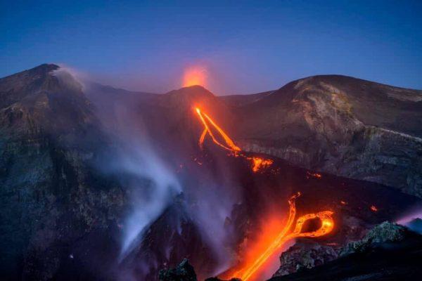 etna voragine eruzione
